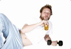 Alcohol Eats Away at Muscle Mass