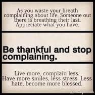 Appreciate What You Have