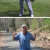 David Broida Golfing and Running