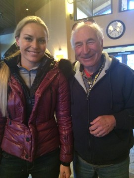 David Broida Skiing Strong with Lindsey Vonn Vertex Fitness