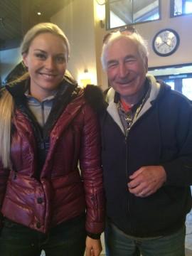 David Broida Skiing Strong with Lindsey Vonn Vertex Fitness