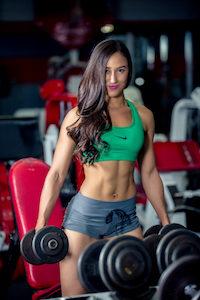 I lift weights