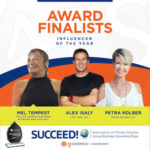 SUCCEED Award Influencer of The Year Finalist Fitness Business of the Year Award