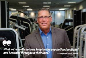 Dwayne Wimmer Vertex Fitness Suburban Life