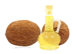 coconut oil and olive oil